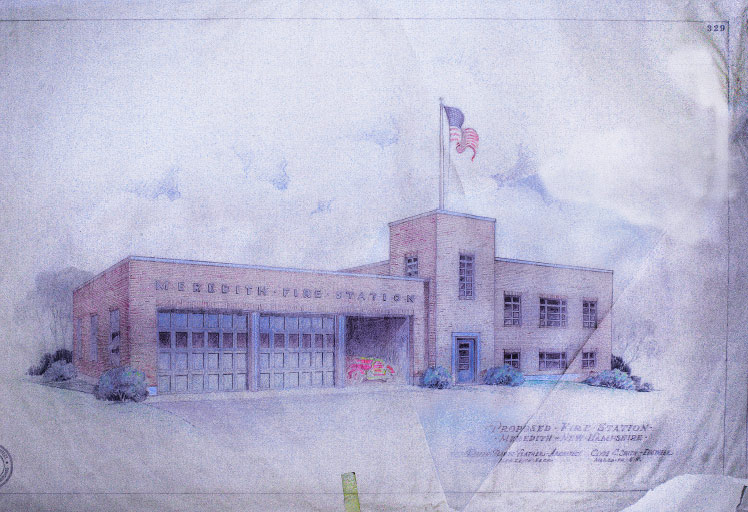 SMP Architecture - Meredith Fire Station