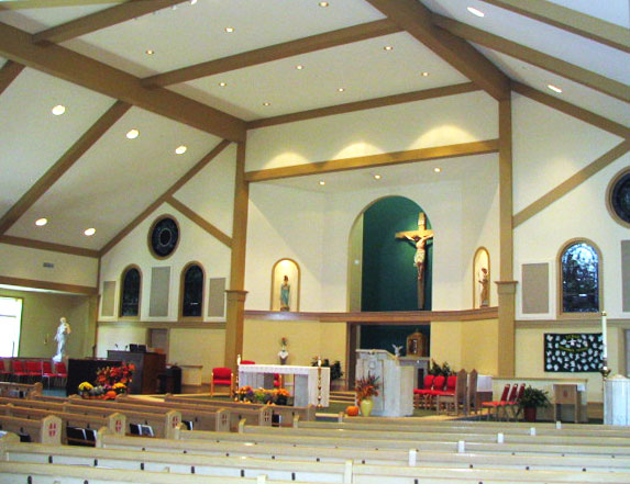 SMP Architecture - St Theresa's Church